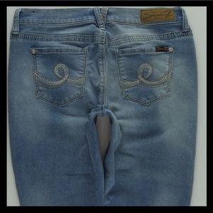Seven7 Girlfriend Crop Capri Jeans Women's 10 #108